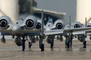 airplane, Fairchild Republic A 10 Thunderbolt II