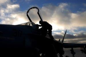 airplane, Pilot, McDonnell Douglas F A 18 Hornet
