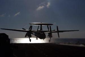 airplane, E 2 Hawkeye