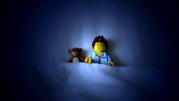 LEGO, Sleeping HD Wallpaper Desktop Background