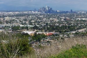 city, Los Angeles, Triple screen
