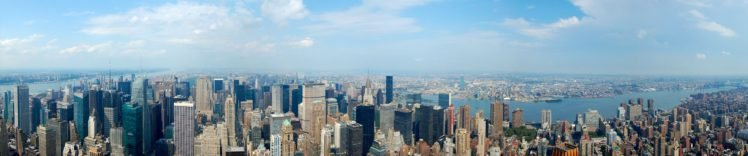 New York City, Triple screen HD Wallpaper Desktop Background