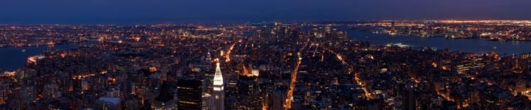 New York City, Triple screen HD Wallpaper Desktop Background
