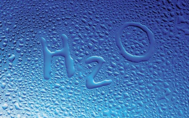 water drops, Water, Glass, H2O, Blue background HD Wallpaper Desktop Background