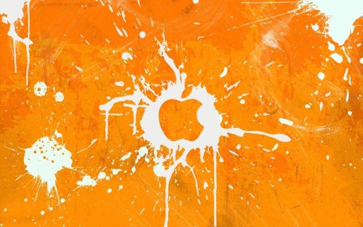 Apple Inc , Paint splatter HD Wallpapers / Desktop and