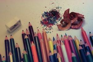 pencils, Pencil sharpener
