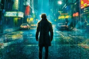 Rorschach, Watchmen, Street, Rain