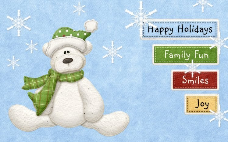 New Year, Snow HD Wallpaper Desktop Background