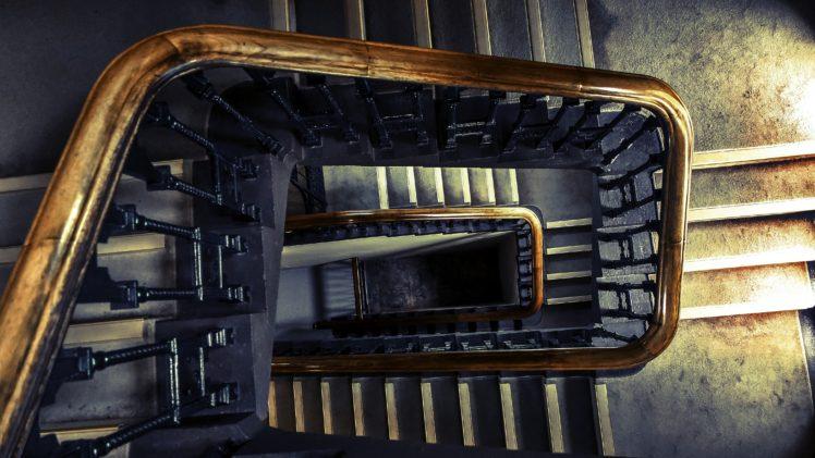 stairs, City, Castle HD Wallpaper Desktop Background