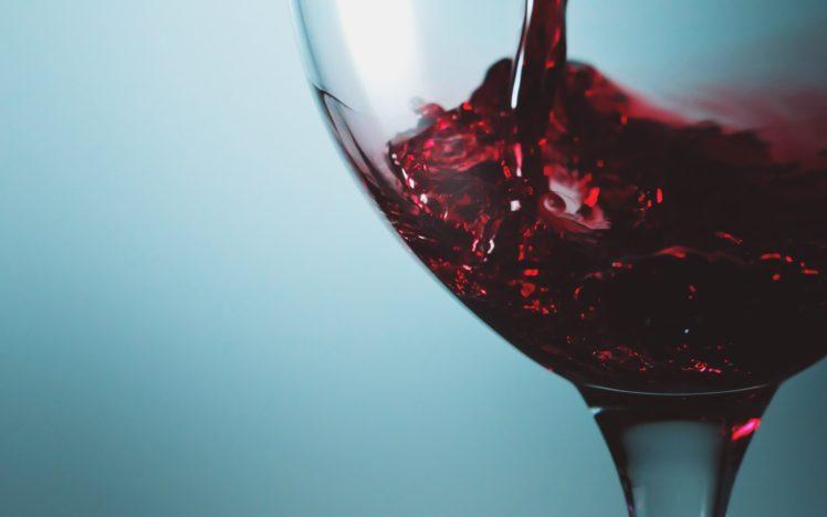 macro, Glass, Wine HD Wallpaper Desktop Background