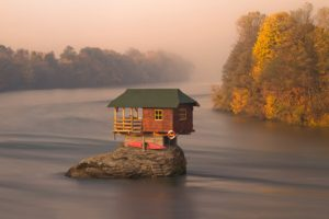 house, Water, Serbia