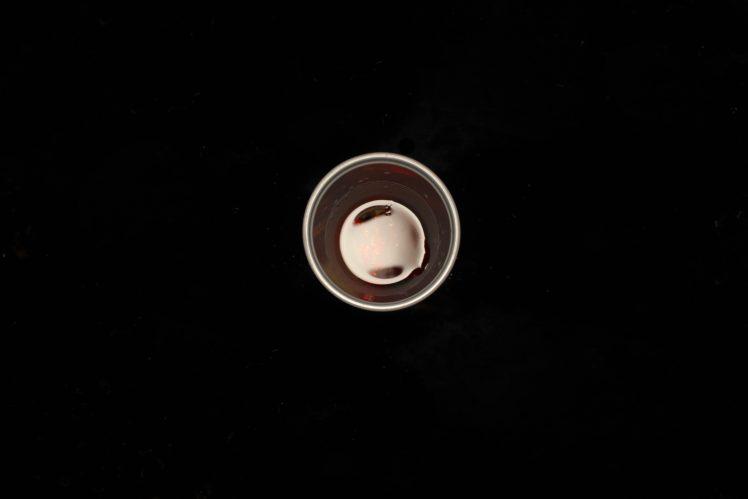 black, Cup, Simple, Reflection HD Wallpaper Desktop Background