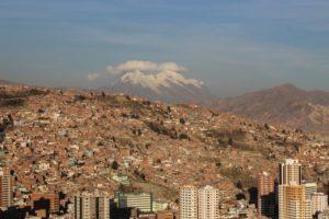 city, Cityscape, Mountains, La paz, Bolivia