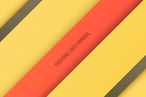 yellow, Minimalism, Selective coloring