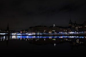 long exposure, Night, Stockholm