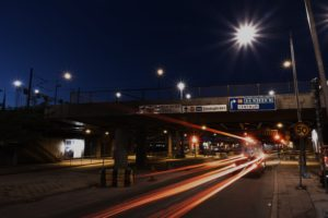 long exposure, Night, Sweden, Stockholm