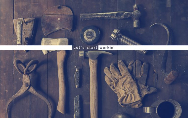 Workshops Work Bench Tools Hammer Purple HD Wallpaper Desktop Background
