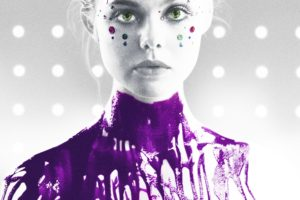 The Neon Demon, Movie poster, Portrait display