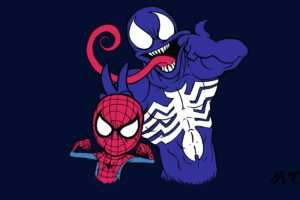 Spiderman Noir, Marvel Comics, Venom, Spider Man