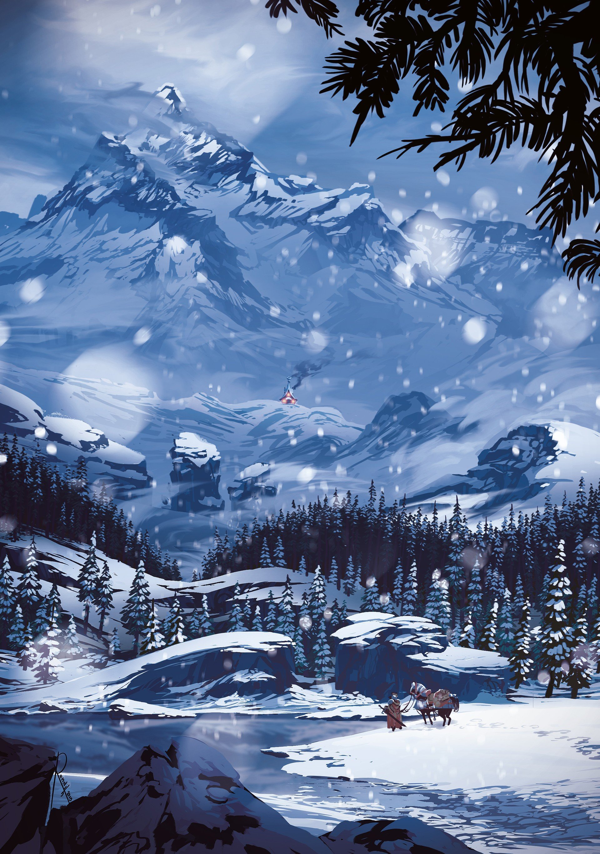 snow, Mountains HD Wallpapers / Desktop and Mobile Images ...