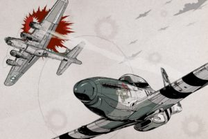North American P 51 Mustang, Aircraft, World War II