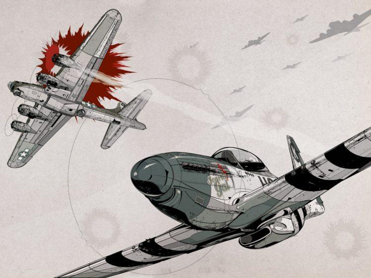 North American P 51 Mustang Aircraft World War Ii Hd Wallpapers