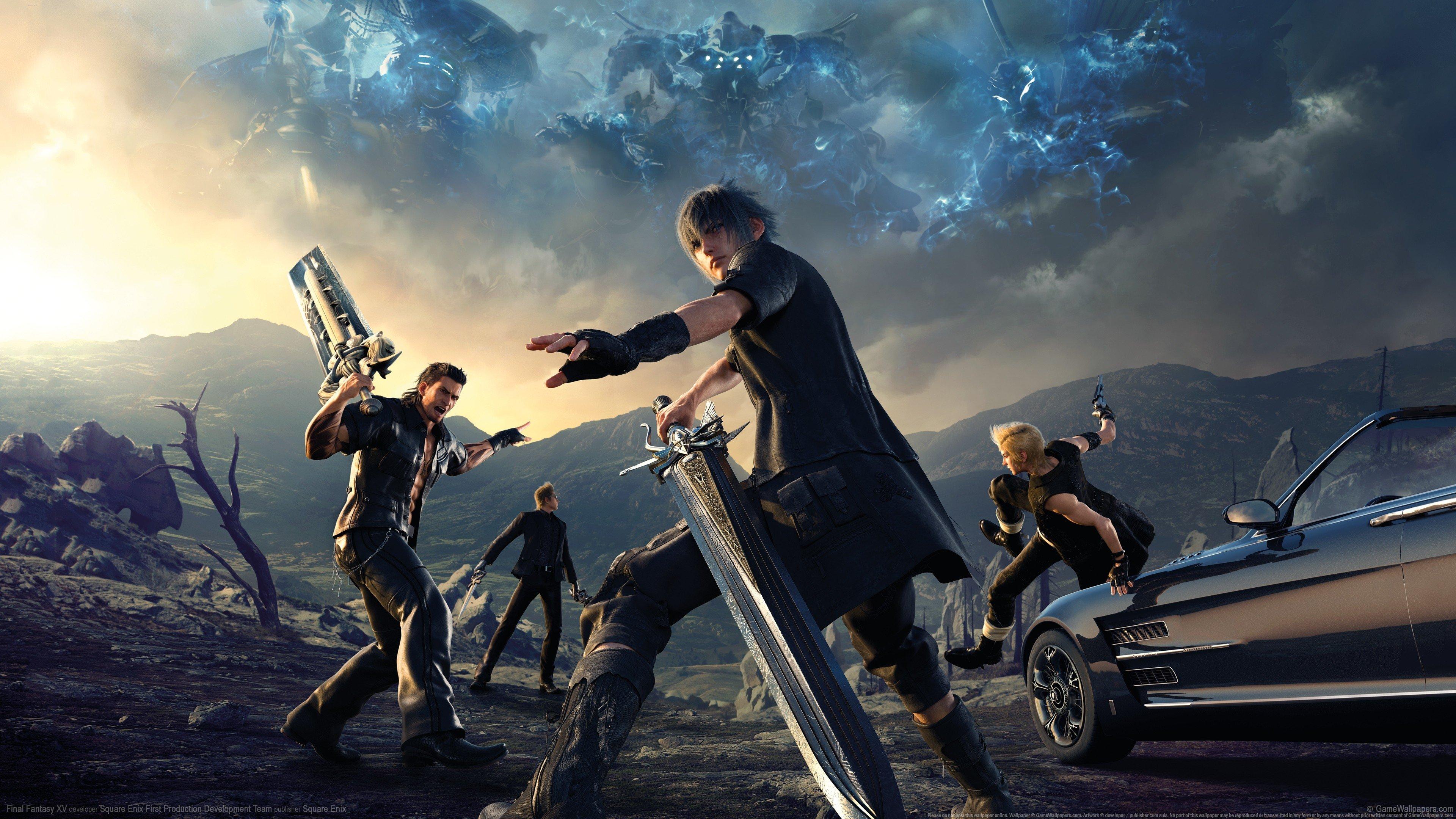 Ignis Prompto Gladiolus Final Fantasy Xv Gamer Noctis Hd