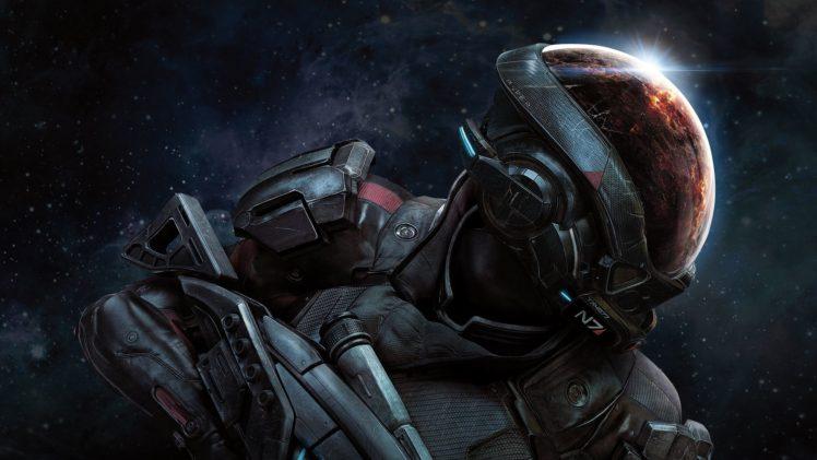 Mass Effect: Andromeda, Bioware, Video games, Space HD Wallpaper Desktop Background