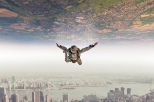 paratroopers, Diving suits, Digital art, Photography