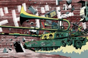 tank, Musical instrument, Artwork