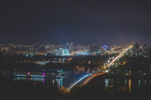 photography, City, Night
