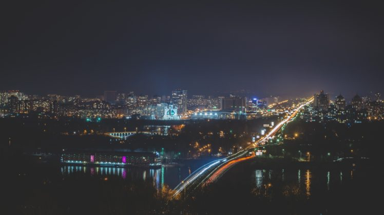 photography, City, Night HD Wallpaper Desktop Background