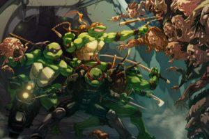 Teenage Mutant Ninja Turtles, Artwork