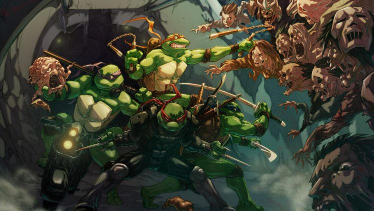 Teenage Mutant Ninja Turtles Artwork Hd Wallpapers