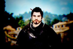 dark hair, Bearded, Men, Video games, Black Desert