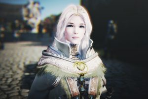 white hair, Women, Video games, Black Desert