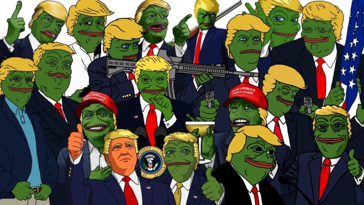 donald trump pepe meme sadfrog kek north america usa freedom