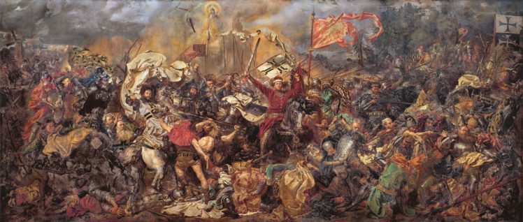 Zalgiris Battlefields Battle Of Grunwald Classic Art Jan