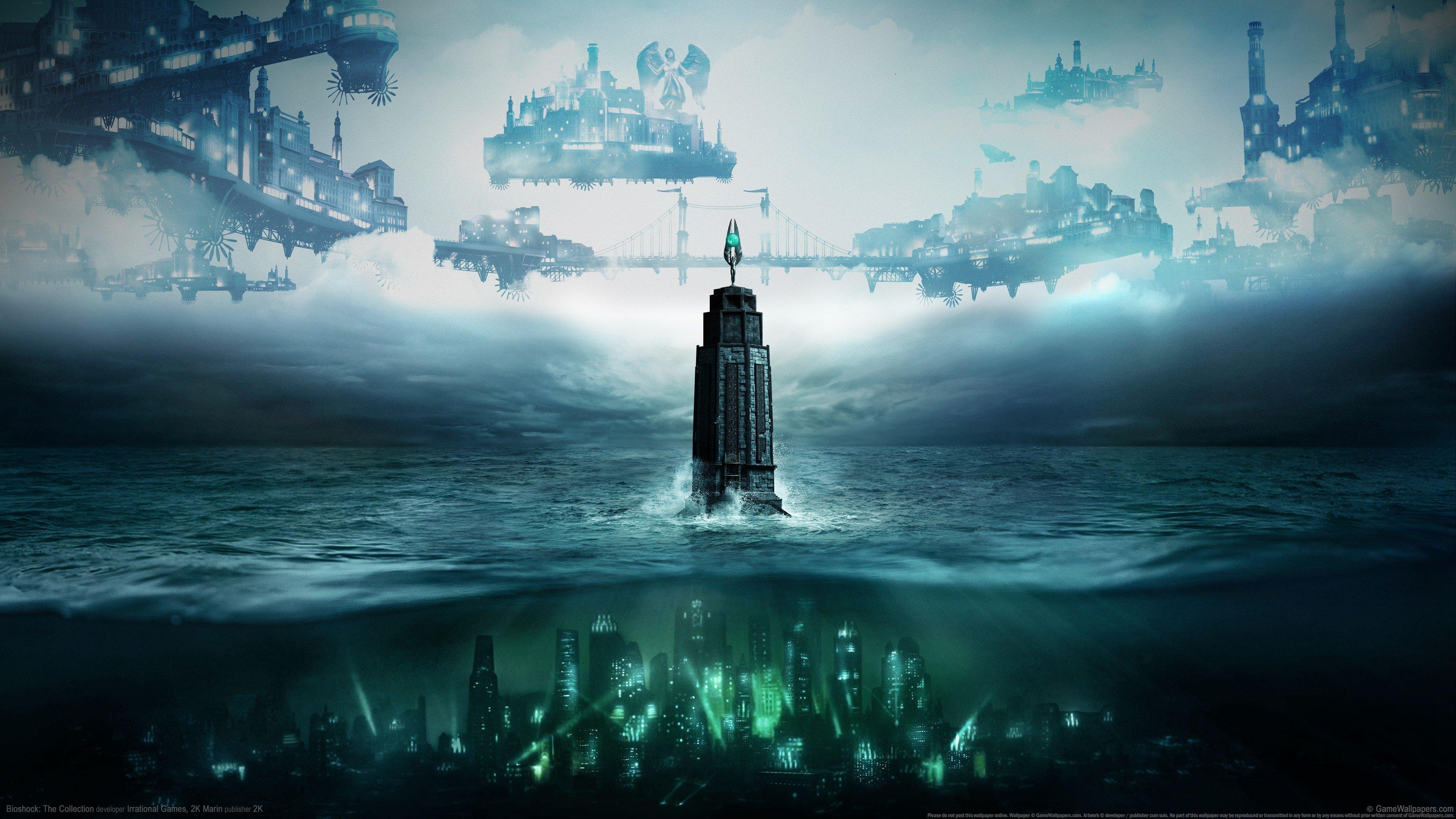 455173 BioShock tower