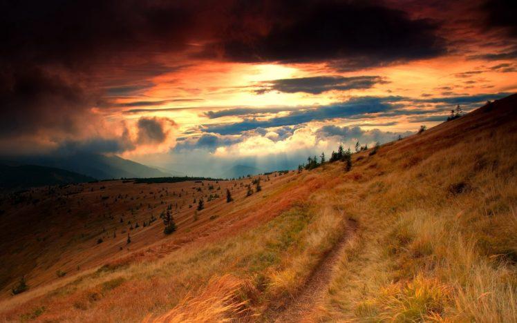 landscape, Sunset HD Wallpaper Desktop Background