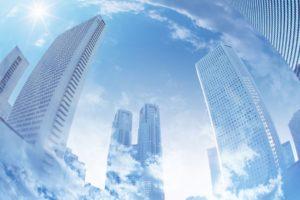 cityscape, Reflection, Skyscraper