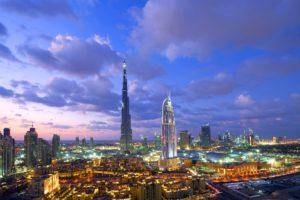 cityscape, Dubai, Burj Khalifa