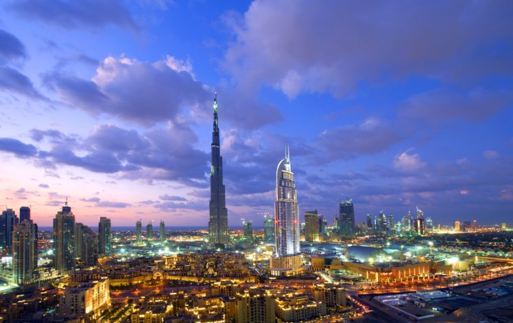 cityscape, Dubai, Burj Khalifa HD Wallpaper Desktop Background