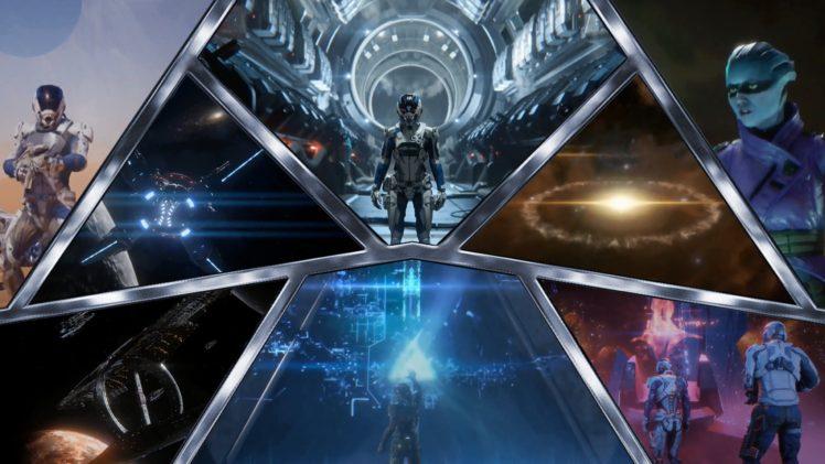 Ryder, Mass Effect: Andromeda, Mass Effect, Video games, Andromeda Initiative HD Wallpaper Desktop Background