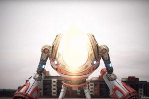 robot, Video games, Boss Wave, Music video