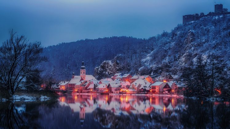 Germany Bavaria Winter Hd Wallpapers Desktop And Mobile