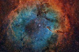 space, Stars, Galaxy, Nebula, Space art
