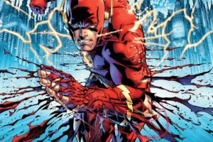 Flash, Superhero, Comics, Lightning, Artwork