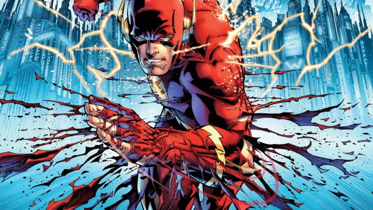 Flash Superhero Comics Lightning Artwork Hd Wallpapers Desktop