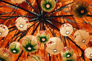ornamented, Lamp, Depth of field